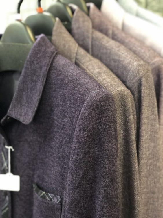 暖かめのジャケット