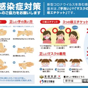 コロナウイルスの予防